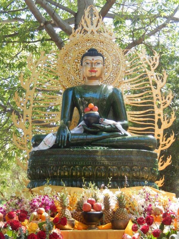 Jade Buddha at the Miami Bodhifest 2014
