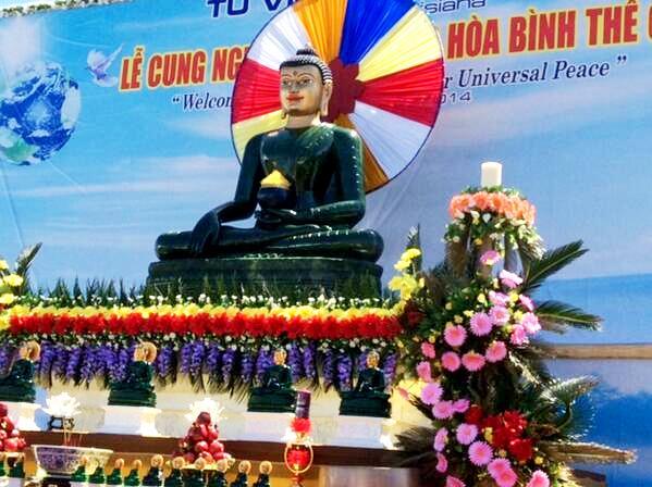 Trien Lam Phat Ngoc at Phuoc Minh Monastery, Louisiana - 2014