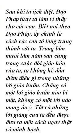Lời Đức Phật.. (1)