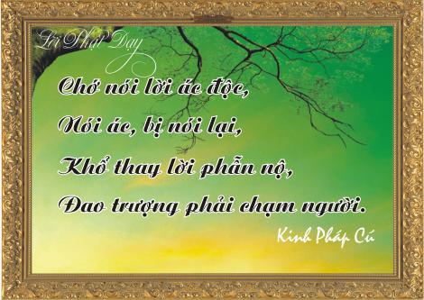 Lời Đức Phật.. (3)