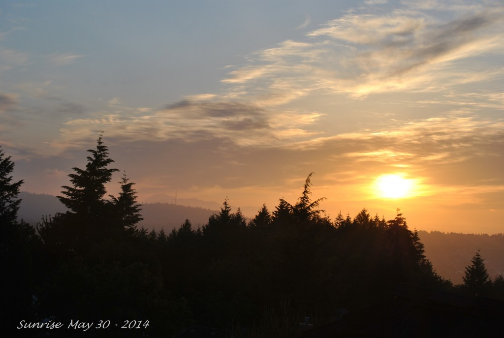Sunrise May 30 - 2014 (3)