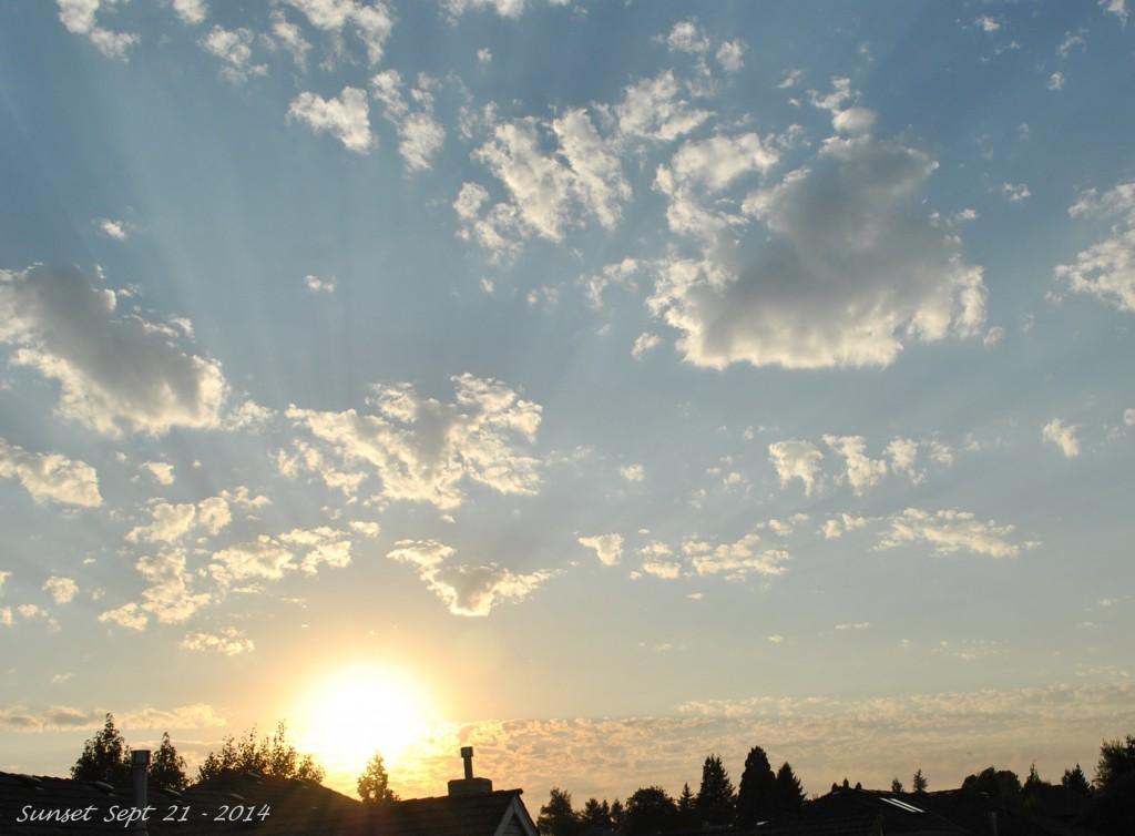 Sunset Sept 21 - 2014 (2)