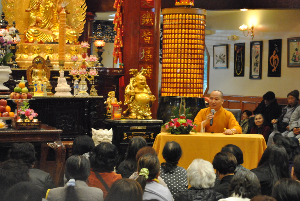 Thay Thich Phuoc Tien giang tai TXNS Jan 04 - 2015 (1)